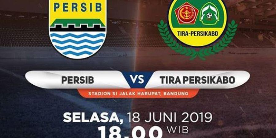 Liga 1 2019 - Persib Ditahan Imbang Tira-Persikabo di Kandang