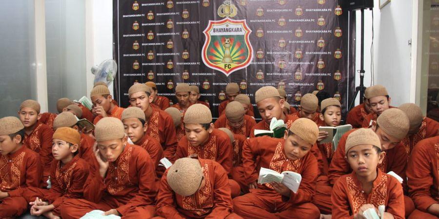 Doa Anak Yatim Piatu Jadi Semangat Bhayangkara FC untuk Lawan PSS
