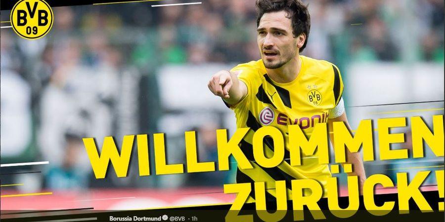 Dicampakkan Bayern dan Timnas Jerman, Alasan Hummels Balik ke Dortmund