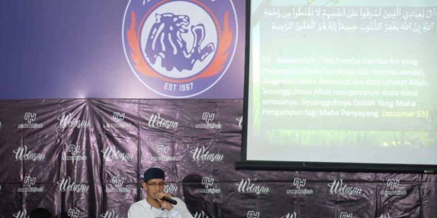 Pengajian Rutin Mempererat Hubungan Arema FC dengan Pendukung Setia