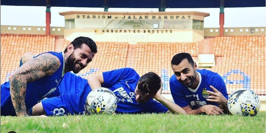 Trio Asing Persib Tak Mau Dipermalukan Lagi Kontra Madura United