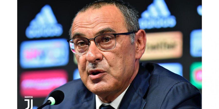 Latih Juventus, Maurizio Sarri Kenyang Dipandang Sebelah Mata