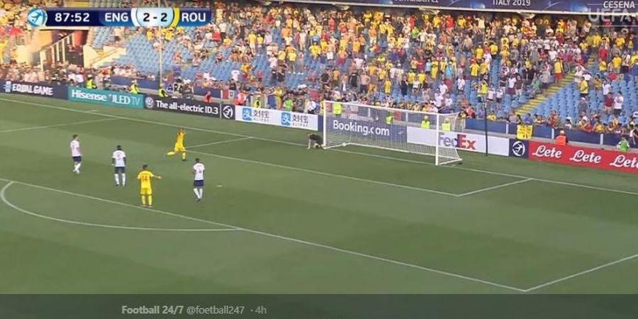 EURO U-21 2019 - Blunder dan Melongo, Kiper Man United Bikin Inggris Kandas