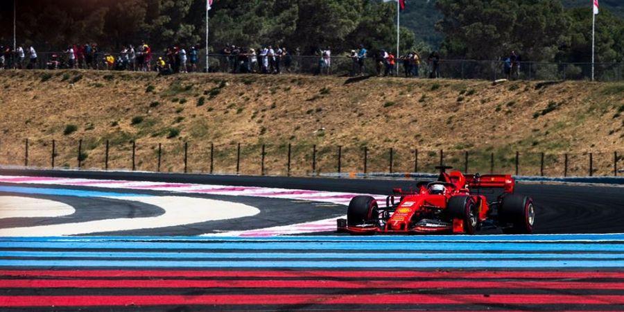Sebastian Vettel Sebut Ferrari Gagal Wujudkan Ambisinya di Prancis
