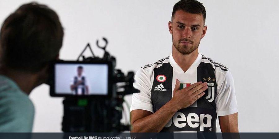 Teman-temannya Masih Berlibur, Aaron Ramsey Sudah Berlatih di Juventus