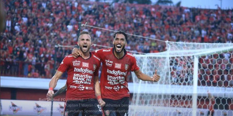 Bali United Lestarikan Tradisi 4 Kemenangan Beruntun Tiap Tahun