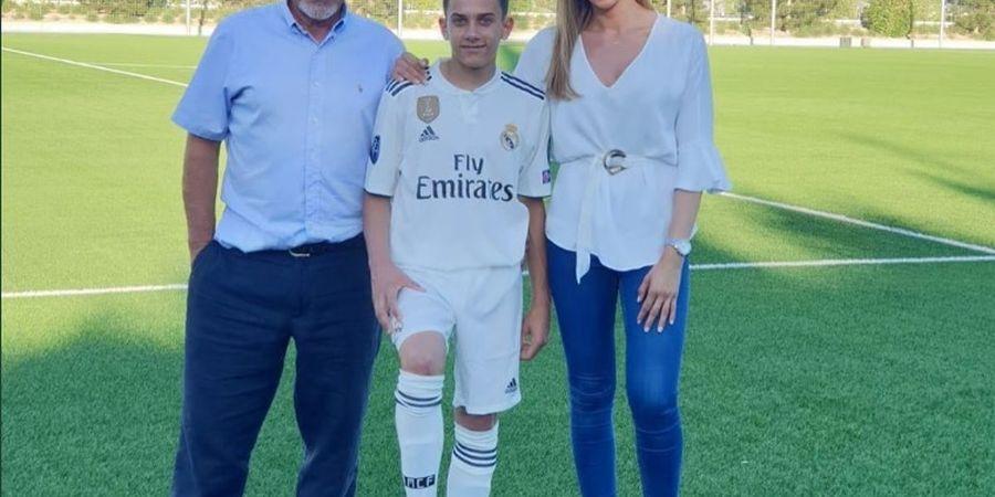 Putra Mendiang Jose Antonio Reyes Resmi Bergabung dengan Real Madrid