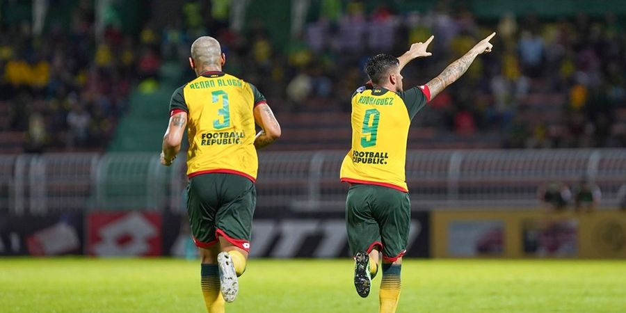 Via Penalti, Eks Striker Mitra Kukar Buka Jalan Klub Malaysia ke Final