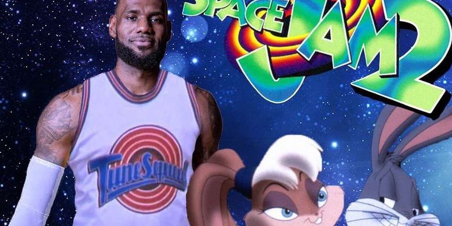 Mantap, LeBron James Konfirmasi Film Space Jam 2 Sedang Digarap!!