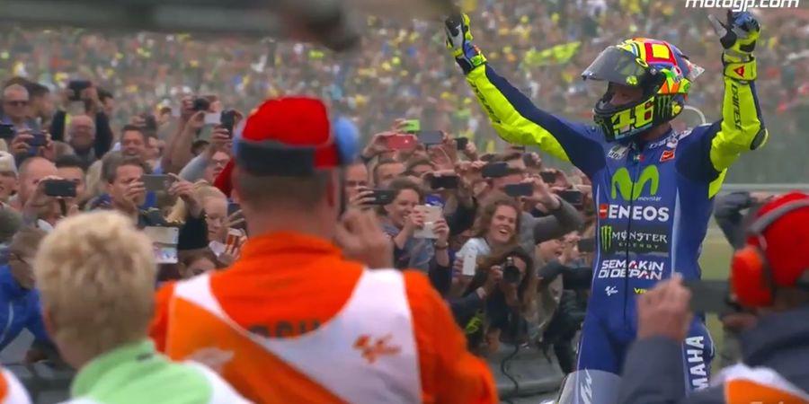 Dua Rekor Ambisius yang Wajib Digeber Valentino Rossi pada MotoGP 2021