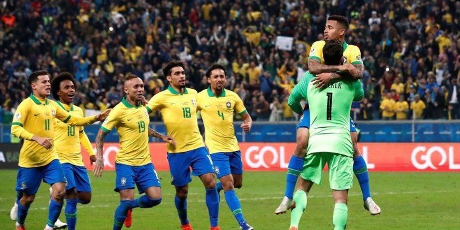 Jelang Final Copa America 2019 - Brasil Waspada, Peru Punya Rekor 100%