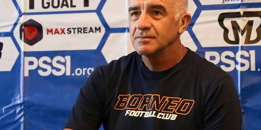 Kata Mario Gomez Usai Borneo FC Disingkirkan Persija dari Piala Indonesia