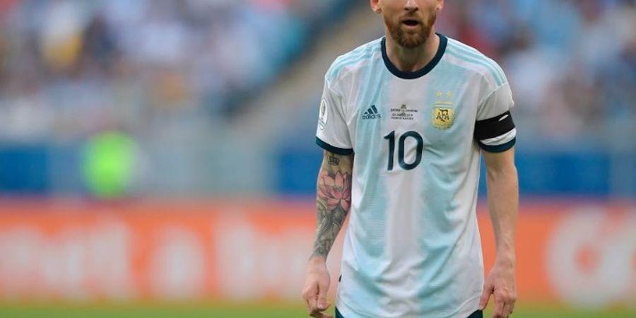 Argentina Kalah, Messi Marah-marah kepada Official