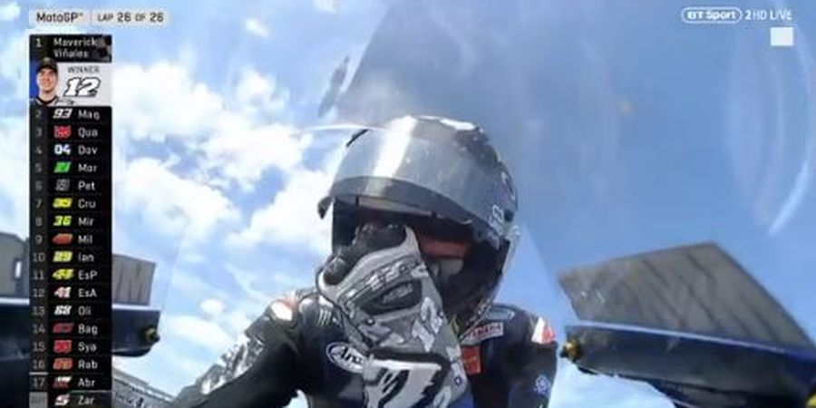 Hasil MotoGP Belanda - Maverick Vinales Hapus Duka Yamaha di MotoGP 2019