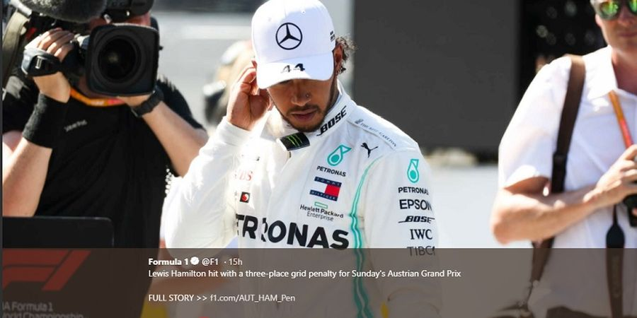 Termasuk Lewis Hamilton, 5 Pembalap Harus Turun Posisi Start pada F1 GP Austria 2019