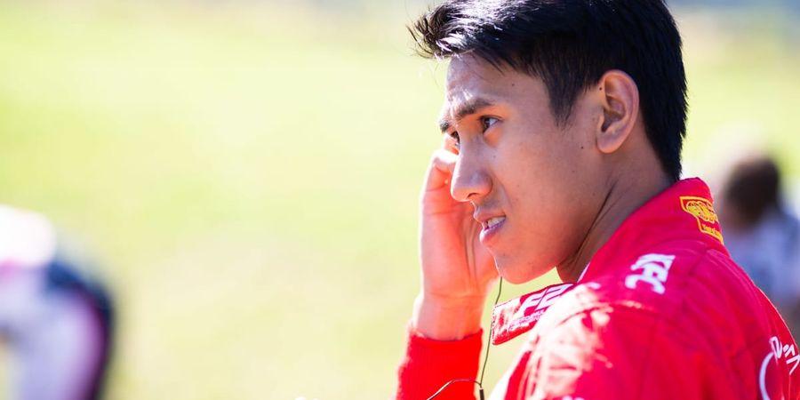 Sean Gelael Selamat dari Kecelakaan Fatal Formula 2 GP Belgia berkat 'Halo'