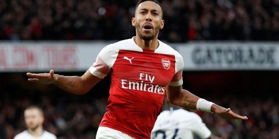 Cetak 50 Gol Dalam 78 Laga, Aubameyang Lewati Beberapa Legenda Arsenal