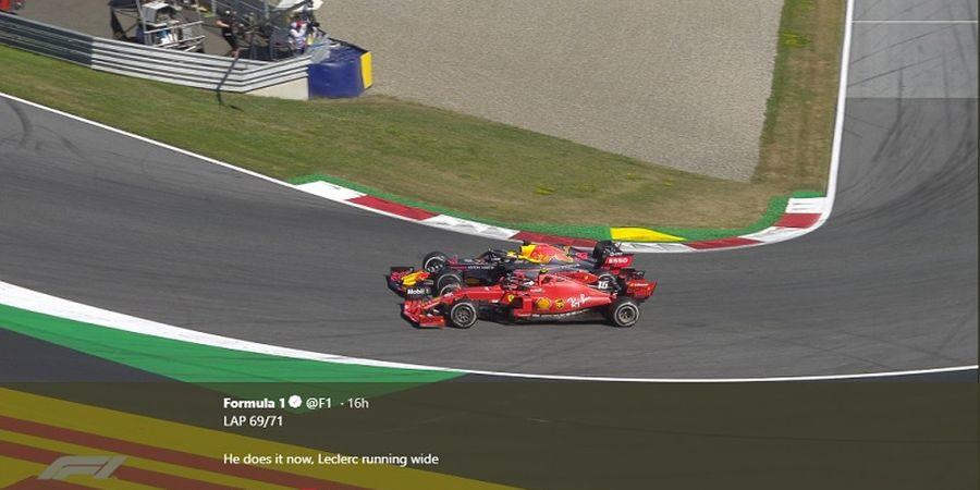 Verstappen Sebut Leclerc Masih Kecewa dengan Insiden Balapan di Austria