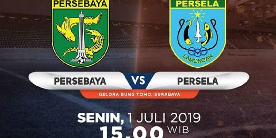 Link Live Streaming Persebaya Surabaya Vs Persela Lamongan