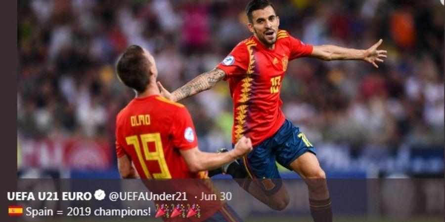Calon Pemain Buangan Real Madrid Menggila di Piala Eropa U-21