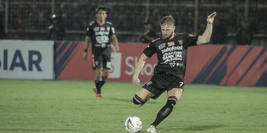Ada Sosok Penting di Balik Awal Mula Melvin Platje Gabung Bali United