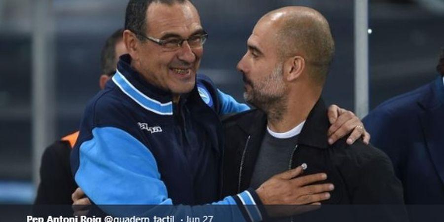 Ada Udang di Balik Batu dari Ucapan Selamat Guardiola kepada Sarri