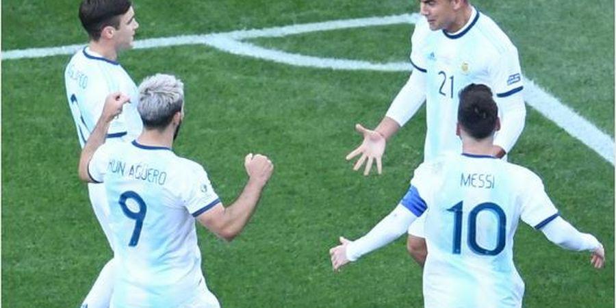 VIDEO - Operan Ajaib Lionel Messi yang Mudahkan Sergio Aguero Cetak Gol