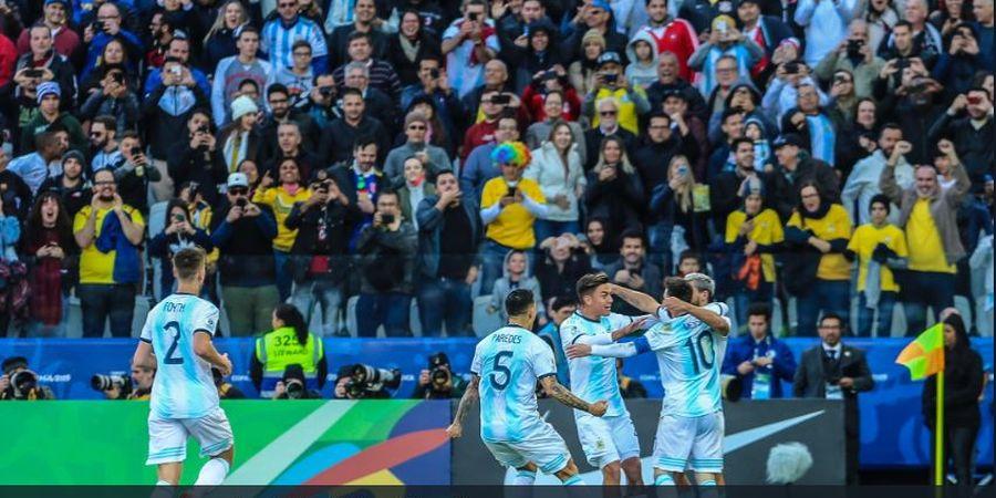 2 Kali Ditaklukkan, Timnas Argentina Suci dari Noda Timnas Cile
