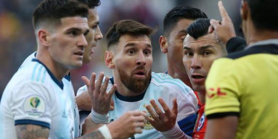 Wasit di Laga Argentina Kontra Brasil Sebut Messi Dkk Butuh Orang untuk Disalahkan