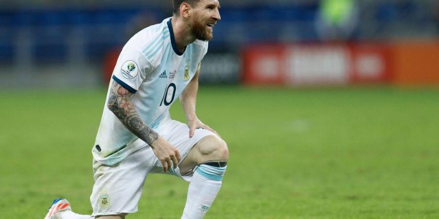 Tanpa Trofi Piala Dunia, Messi Belum Pantas Jadi Pemain Terbaik Dunia
