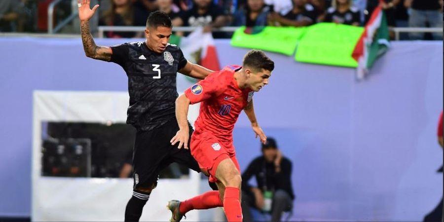 3 Peluang Gemilang Gagal, Timnas Amerika Serikat Ditahan Meksiko 0-0