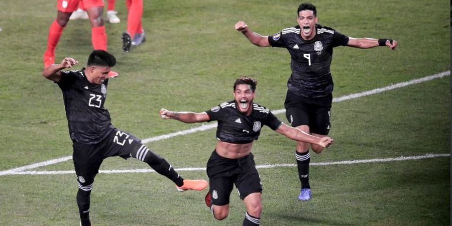 Piala Emas 2019 - Permalukan Amerika Serikat di Kandang, Meksiko Juara