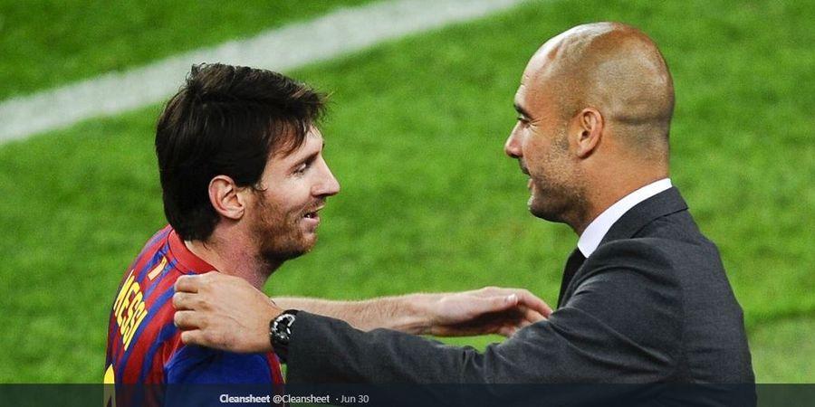 Nasihat Dani Alves kepada Guardiola yang Bikin Messi Menggelegar