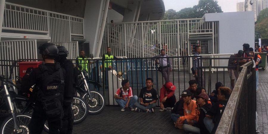 Persija Vs Persib - Puluhan Oknum yang Diamankan Polisi Bukan Bobotoh