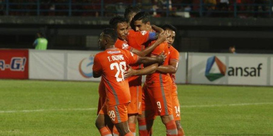 Imbangi Perseru Badak Lampung, Borneo FC Naik ke Papan Atas Klasemen Liga 1 2019