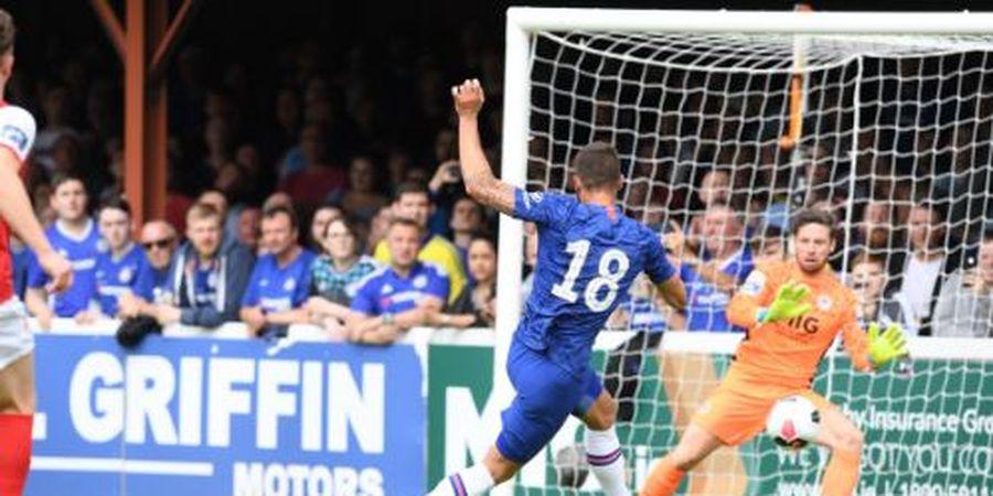 Andalkan Anak Kesayangan, Frank Lampard Bawa Chelsea Menang Telak