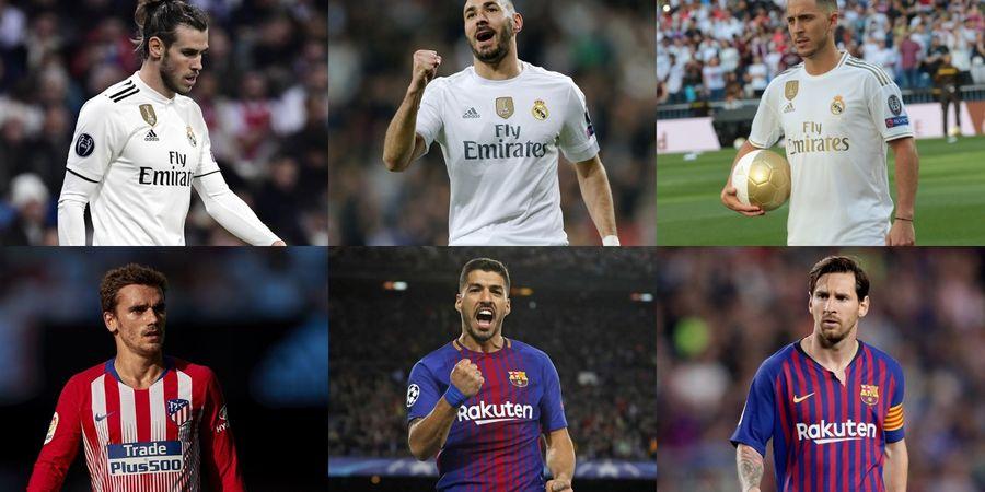 Trio MSG Barcelona Vs Trio BaBeH Real Madrid, Siapa Lebih Tajam?