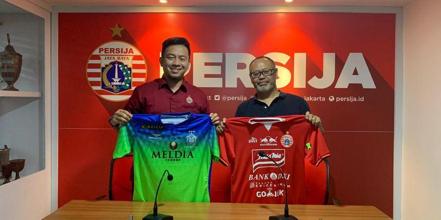 Persija Jalin Kerja Sama dengan Juara Levain Cup 2018 asal Jepang
