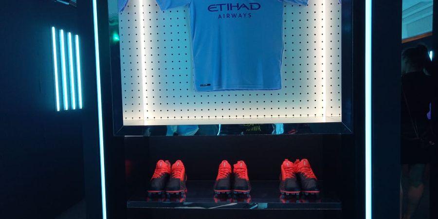 China Jadi Saksi Peluncuran Kostum Baru Manchester City