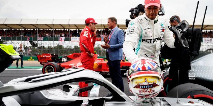 Lewis Hamilton Akui Tak Maksimal pada Sesi Kualifikasi F1 Inggris 2019