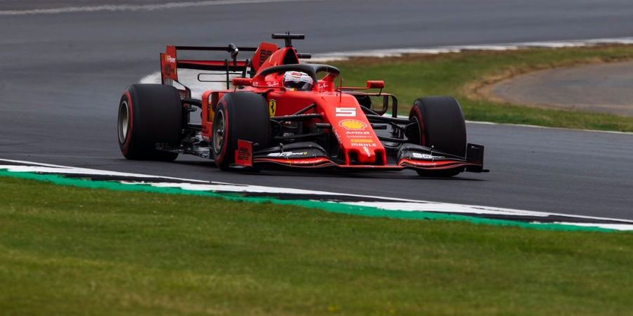 F1 Inggris 2019 - Sebastian Vettel Kecewa Start dari Posisi Ke-6