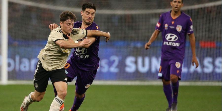 Usai Lawan Perth Glory, Anak Baru Man United Ungkap Posisi Terbaiknya