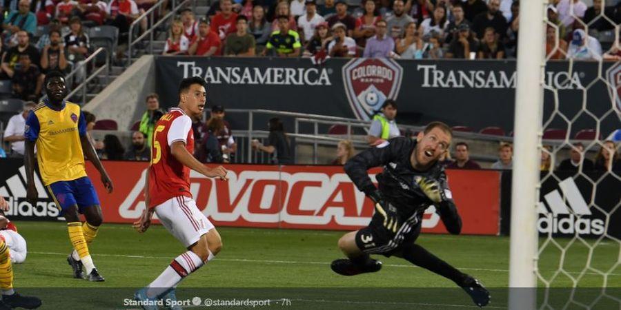 Moncer Bareng Arsenal, Bocah Ajaib Brasil Ternyata Sempat Dites Man United