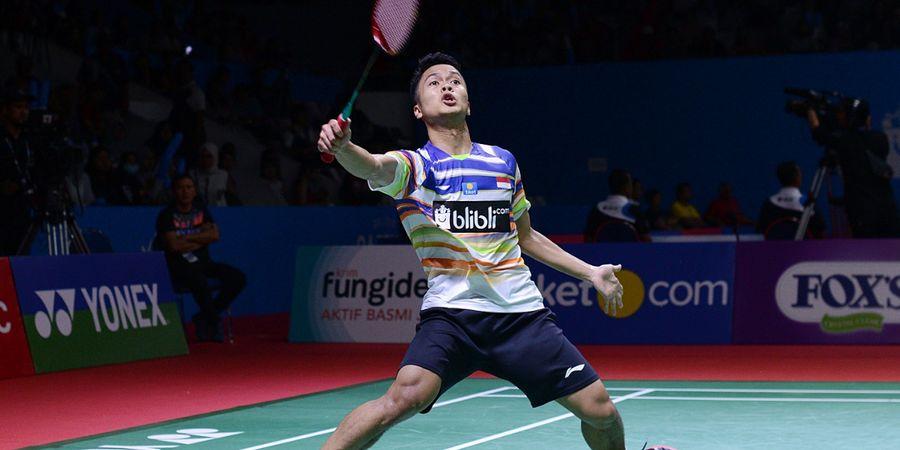 Japan Open 2019 - Anthony Ginting Enggan Remehkan Siapa pun Calon Lawan