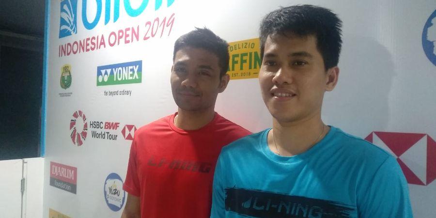 Indonesia Open 2019 - Berry Angriawan Tak Menyangka Kalah Cepat
