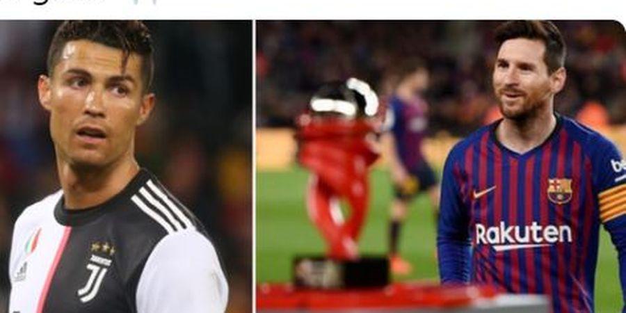 Nominasi Pemain Terbaik FIFA, Messi-Ronaldo Lawan Pemain Kegendutan