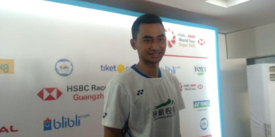 Indonesia Open 2019 - Tommy Akui Chen Long Bermain Lebih Baik