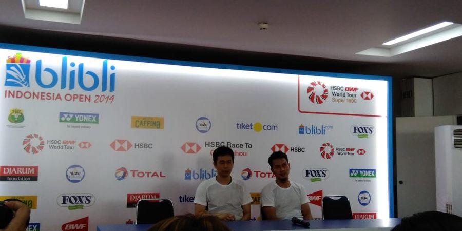 Indonesia Open 2019 - Lewati Lubang Jarum, Ahsan/Hendra: Yang Penting Fight!