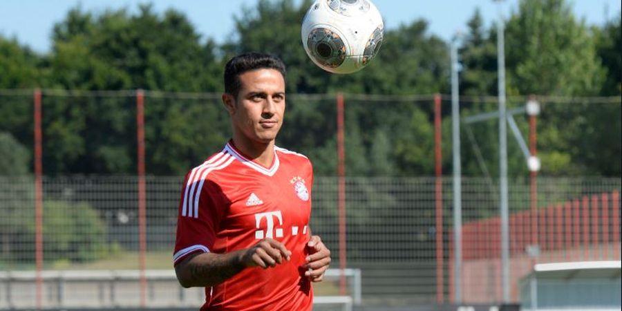 Liverpool Temui Kata Sepakat untuk Boyong Thiago Alcantara dari Bayern Muenchen
