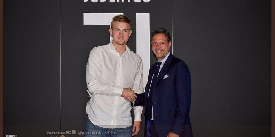 Kebobolan 9 Gol dalam 5 Laga, Matthijs de Ligt Jadi Titik Lemah Juventus